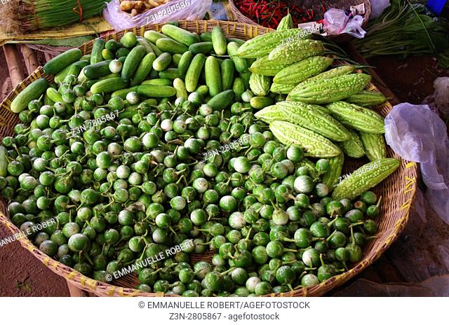 Siem Rep market, pickles Cambodia, South East Asia