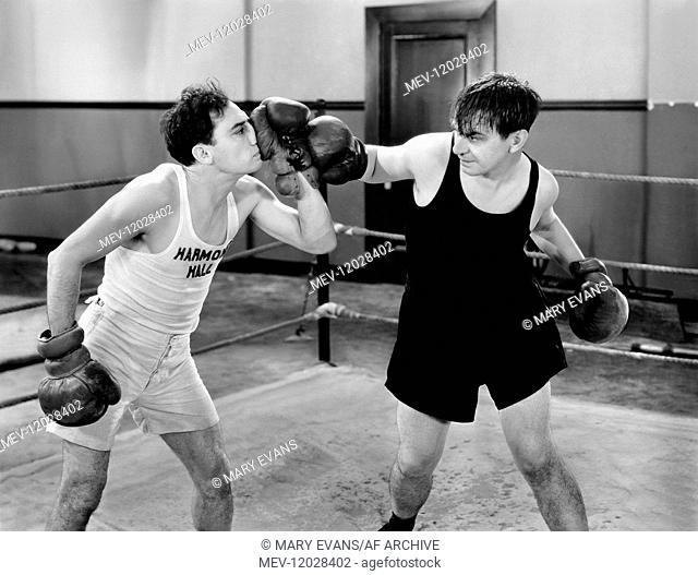 Buster Keaton & Syd Saylor Characters: Homer Van Dine Harmon & One Round Mulvaney Film: Sidewalks Of New York (1930) 26 September 1931