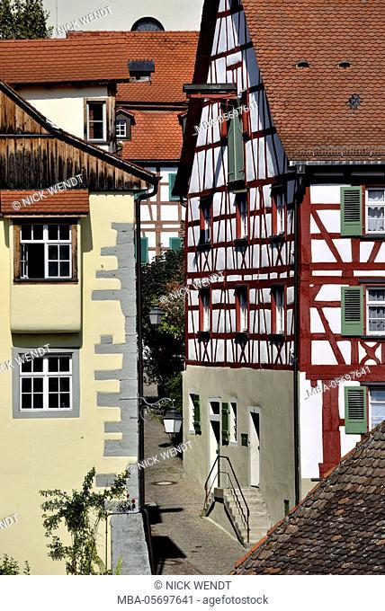 Meersburg in Lake of Constance, Old Town