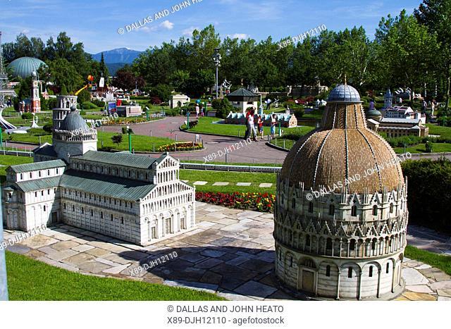 Europe, Austria, Carinthia, Klagenfurt am Worthersee, Minimundus, Miniature Park