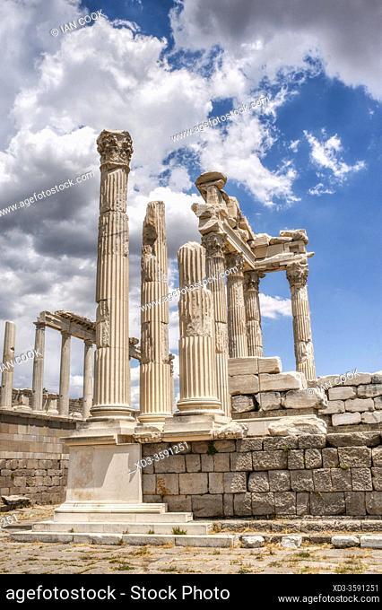 ancient Greek and Roman city of Pergamon, Bergama, Turkey