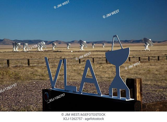 Datil, New Mexico - The Very Large Array radio telescope consists of 27 large dish antennas on the Plains of San Agustin in western New Mexico  The facility is...