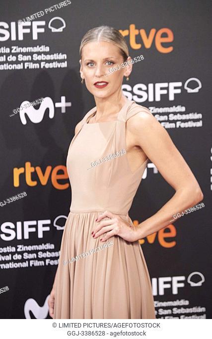 Denise Gough attended 'The other lamb' Premiere during 67th San Sebastian Film Festival at Kursaal Palace on September 23, 2019 in San Sebastian, Spain