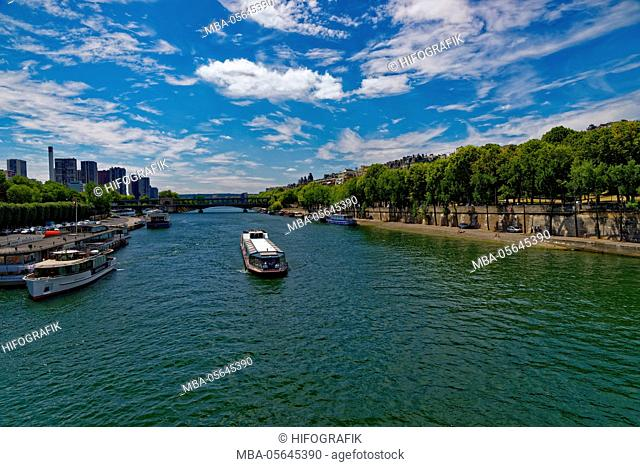 'Seine', Paris, France