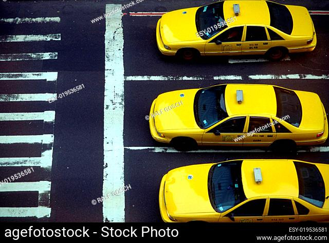 New York Taxi, Yellow Cab