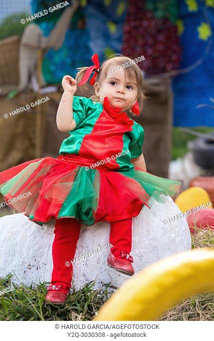 Infant Girl dresses Tulle Romper Christmas Outfit