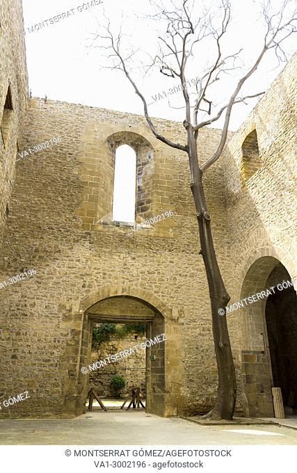 Remains of the church Santa Maria dello Spasimo. Palermo, Sicily. Italy