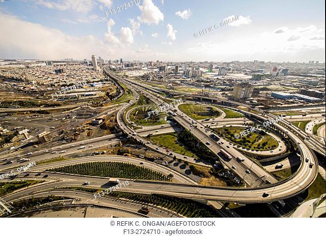 Roads in Istanbul