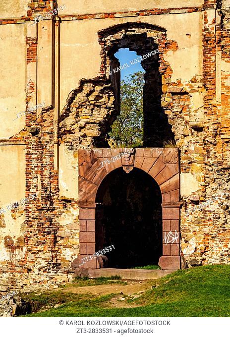 Poland, Swietokrzyskie Voivodeship, Kielce County, Bodzentyn Castle