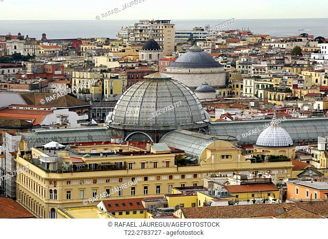 Naples (Italy). Gallery Umberto I in the city of Naples