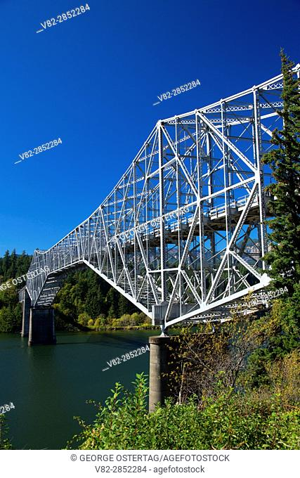 Bridge of the Gods, Columbia River Gorge National Scenic Area, Cascade Locks, Oregon