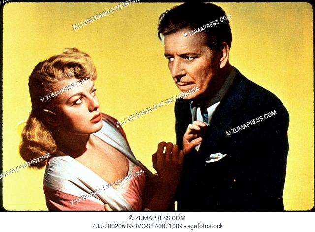 1947, Film Title: DOUBLE LIFE, Director: GEORGE CUKOR, Studio: UNIV, Pictured: 1947, AWARDS - ACADEMY, BEST ACTOR, RONALD COLMAN, GEORGE CUKOR
