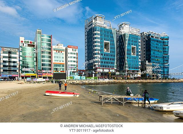 KwangAn Gwangalli Beach, Busan, â. ŽYeongnam, South Korea