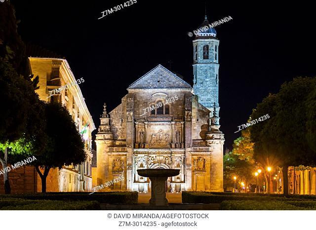 Capilla del Salvador. Ubeda. Jaen Province. Andalusia. Spain