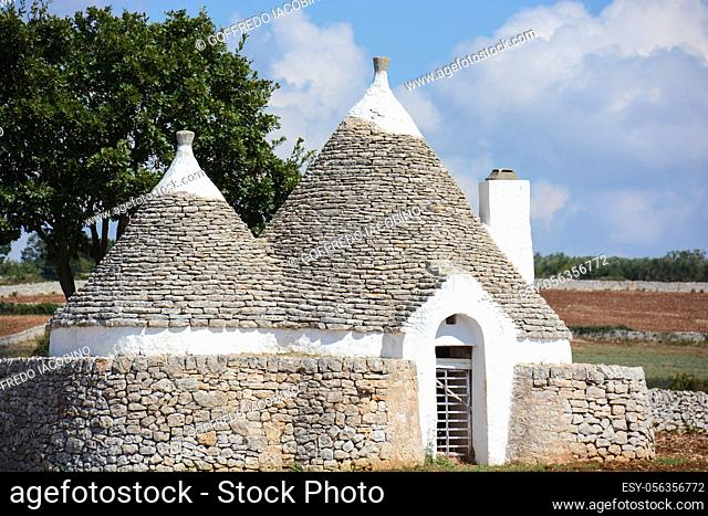 ancient peasant dwelling of south-eastern Italy