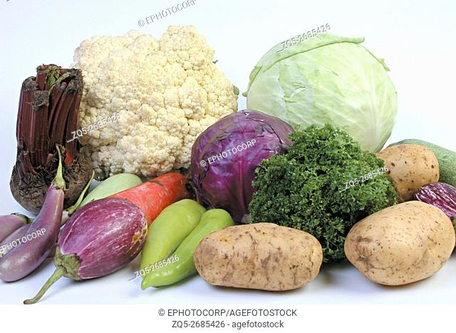 Close-up of Mix Vegetables