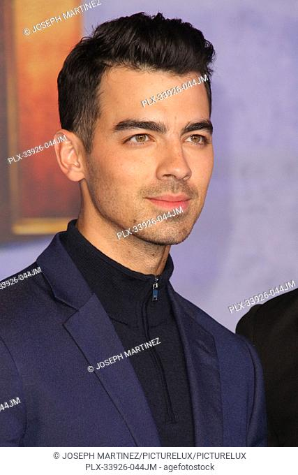 """Joe Jonas at Sony Pictures' """"""""Jumanji: The Next Level"""""""" World Premiere held at the TCL Chinese Theater in Hollywood, CA, December 9, 2019"""