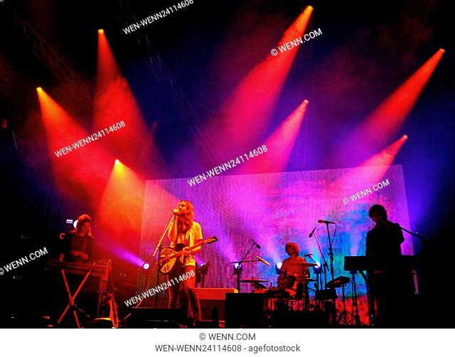 BBC Radio 1's Big Weekend - Performances - Day 1 - Tame Impala Featuring: Tame Impala Where: Exeter, United Kingdom When: 28 May 2016 Credit: WENN.com