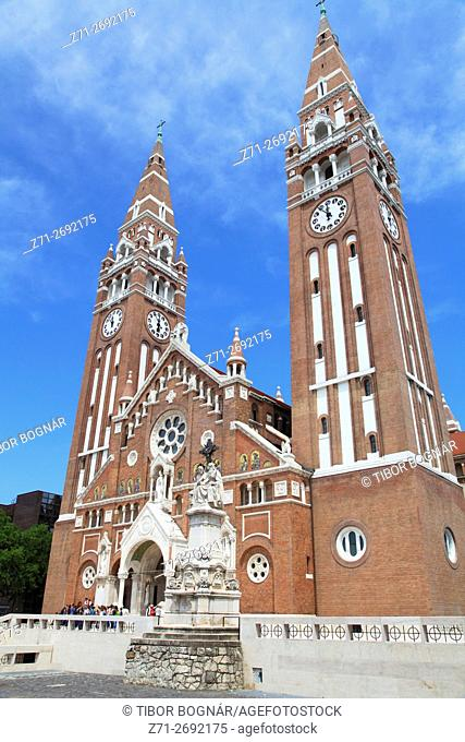 Hungary, Szeged, Cathedral, Votive Church,