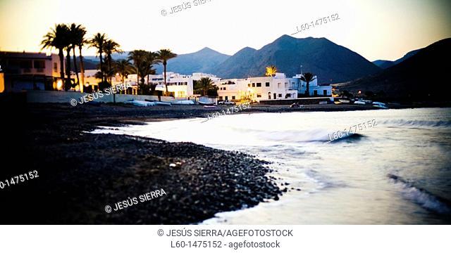 Las Negras Village, Natural Park Cabo de Gata-Nijar, Almeria, Spain