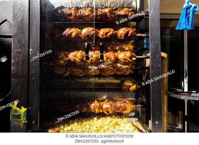 Grilled chicken, Perpignan, France