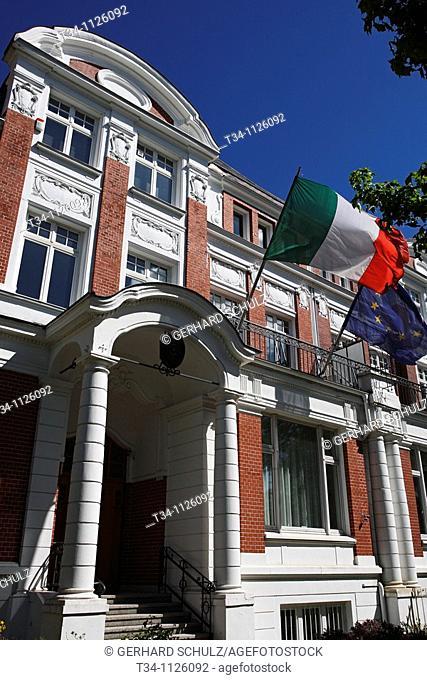 Italian Embassy of Hamburg, Germany