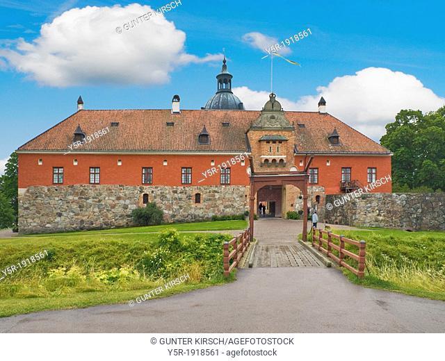 In 1537 built Gripsholm Castle of Gustav I. Wasa, Strängnäs Municipality, Södermanland County, Sweden, Europe