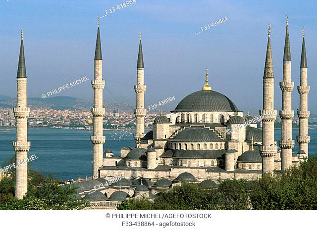 Turkey. Province of Marmara. Istanbul. Mosque Sultan Ahmet