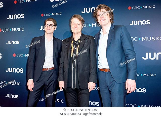2018 JUNO Awards, held at the Rogers Arena in Vancouver, Canada. Featuring: Jim Cuddy Where: Vancouver, British Columbia