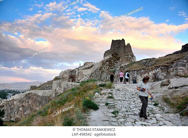 Castle near Van, Lake Van, Kurd populated area, east Anatolia, East Turkey, Turkey