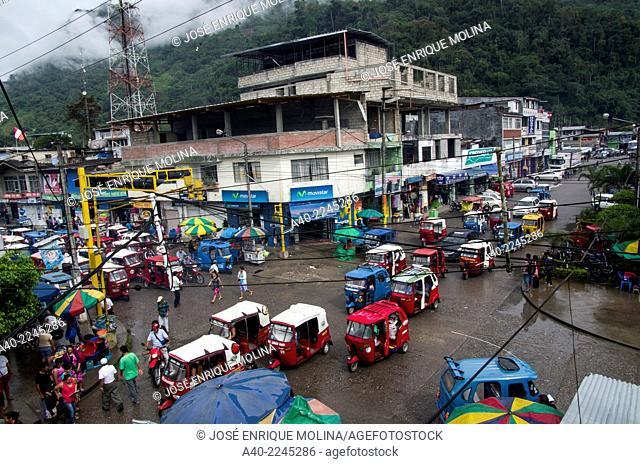 Tingo Maria city in the peruvian jungle.Huanuco department. Peru