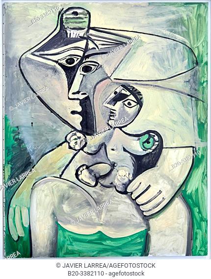"""""""Maternité"""", 1971, Pablo Picasso, Picasso Museum, Paris, France, Europe"""