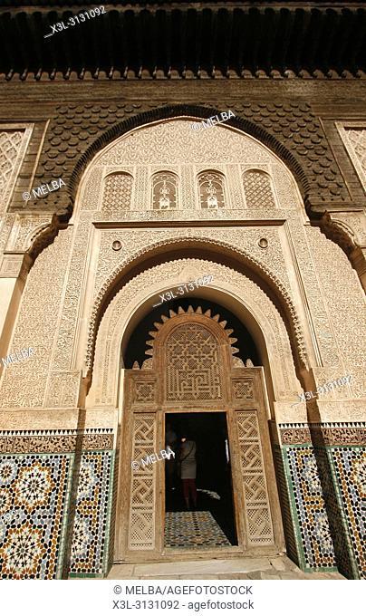 Medersa Ben Youssef, Medina, Marrakech, Morocco