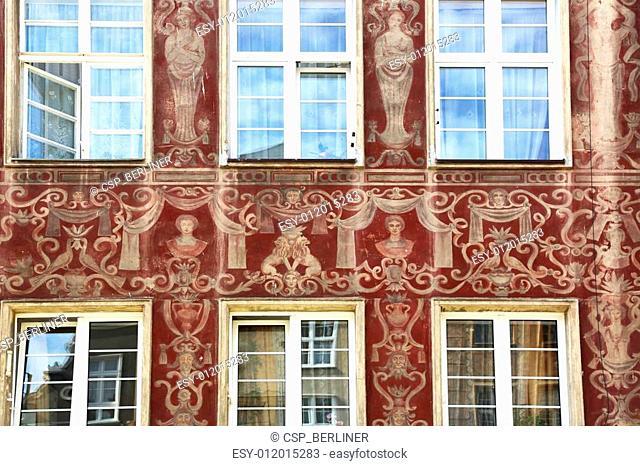Renaissance Facade Gdansk