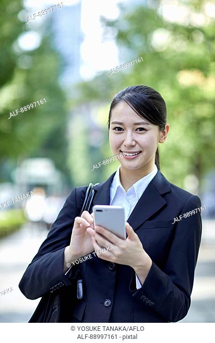 Young Japanese businesswoman