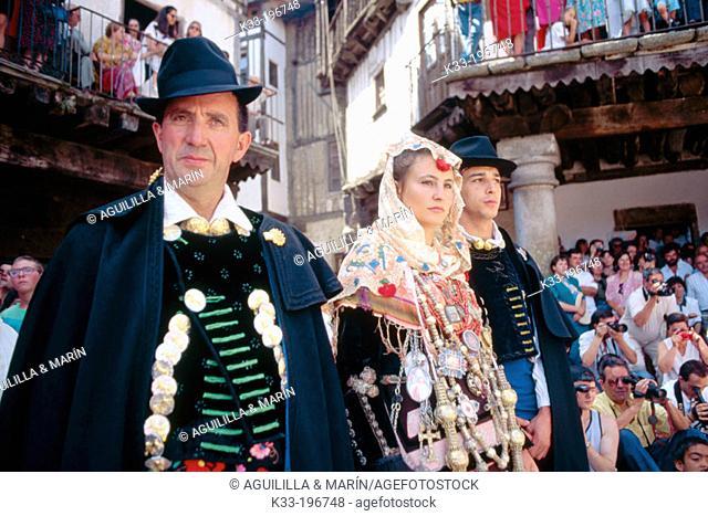 'El Diagosto', local festival. La Alberca. Salamanca province. Spain