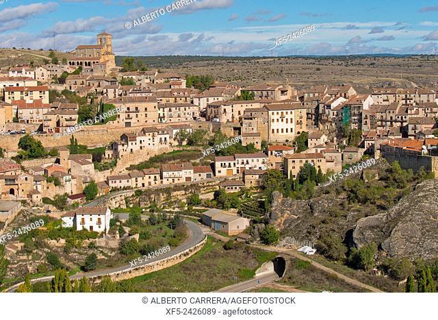 Sepúlveda, Medieval Village, Segovia, Castilla y León, Spain, Europe