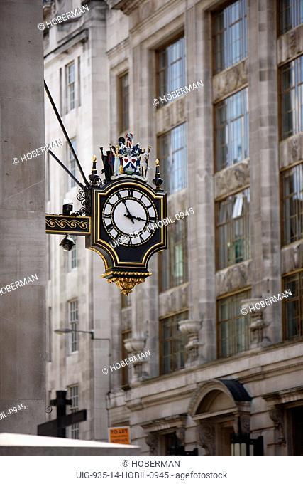 London Street Clock