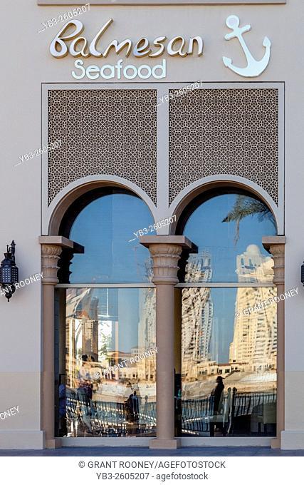 Balmesan Seafood Restaurant, The Pearl, Doha, Qatar