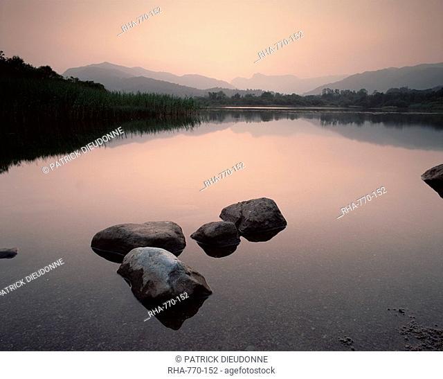 Elterwater near Ambleside, Lake District National Park, Cumbria, England, United Kingdom, Europe