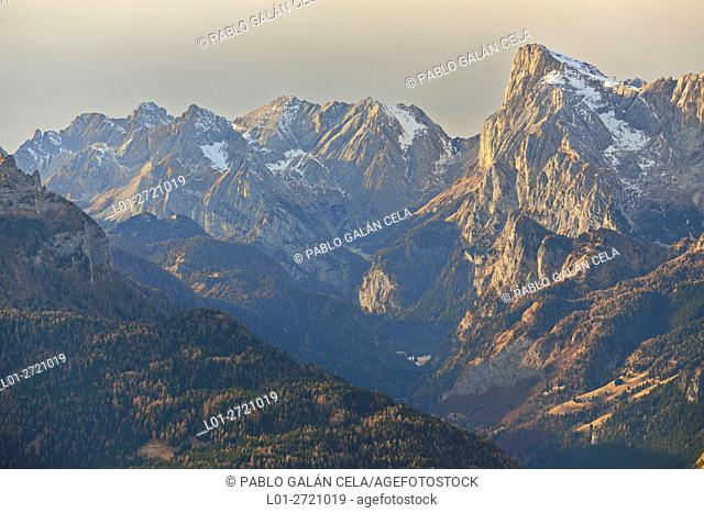Dolomites mountains (Italy)