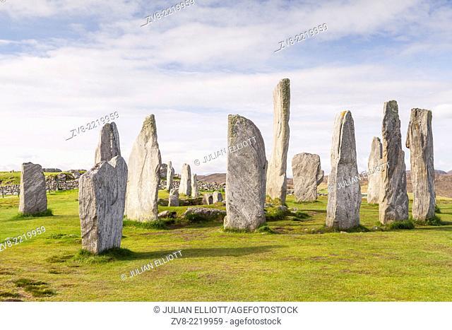 The Callanish Stones on the Isle of Lewis