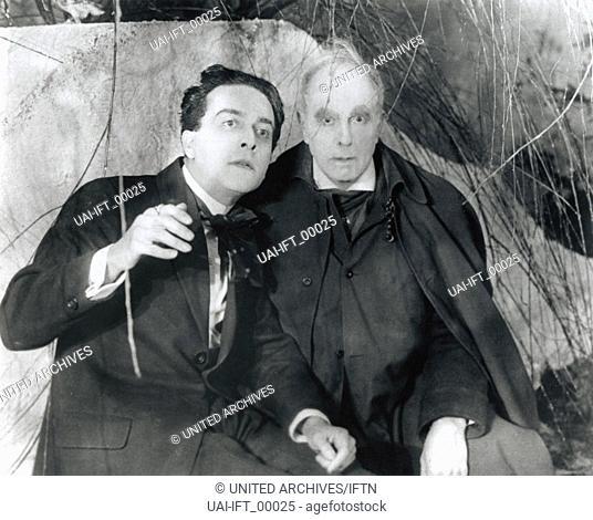 Das Cabinet des Dr. Caligari, Deutschland 1919, Regie: Robert Wiene, Darsteller: Conrad Veidt, Werner Krauss