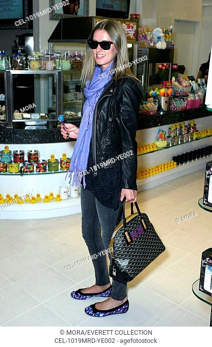 Nicky Hilton (carrying a Goyard bag) at a public appearance for Nicky Hilton at Sugar Factory, Miracle Mile Shops at Planet Hollywood Resort & Casino, Las Vegas