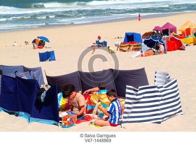 Beach Mira, Portugal, Europe