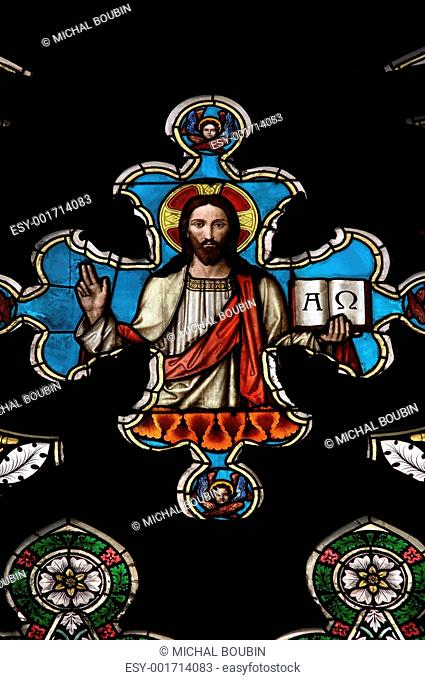 Jesus Christ - stained window