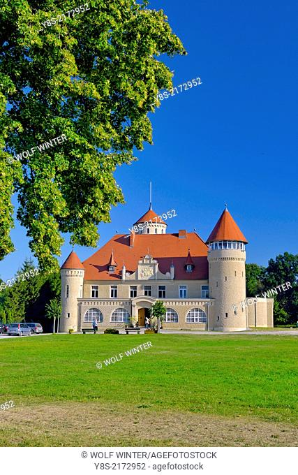 Stolpe Palace at Stolpe, Usedom, Germany