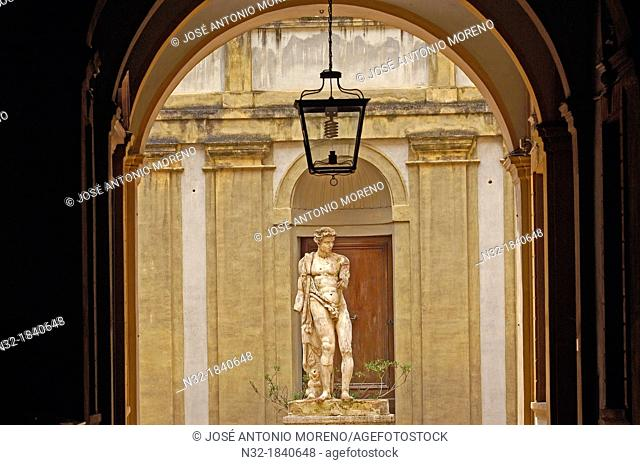 Siena, Palazzo Bianchi Bandinelli, Via Roma, Tuscany, UNESCO World Heritage Site, Italy, Europe