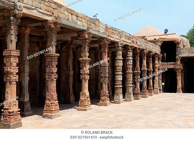 Qutb Minar in Dehli Indien