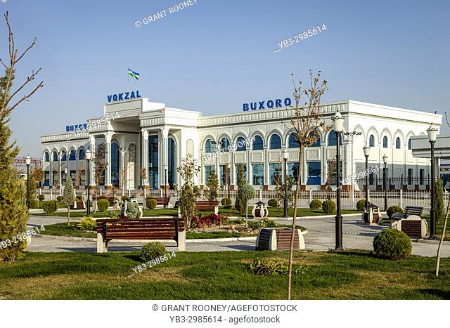 The Train Station, Bukhara, Uzbekistan